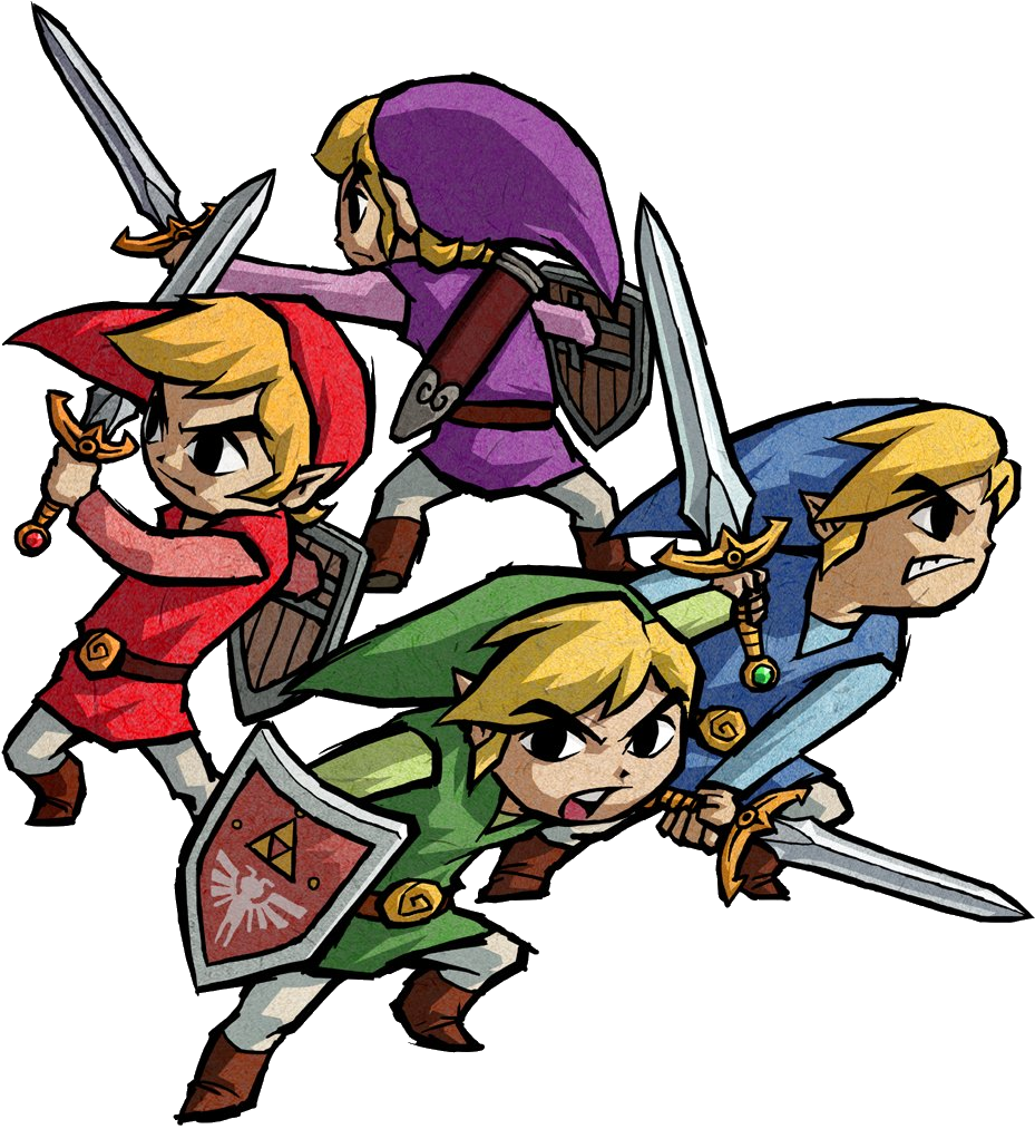 Link - Four Swords (GC)