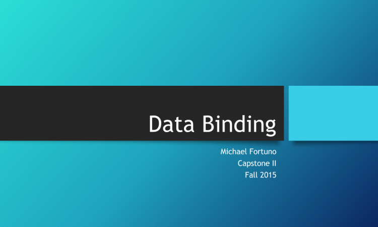 DataBinding Featured Image