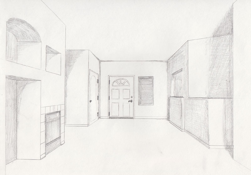1-point perspective
